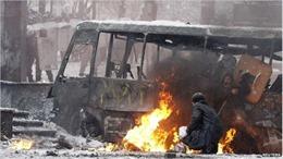 2 người biểu tình thiệt mạng tại Ukraine