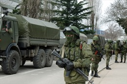 Hải quân Nga chặn eo biển nối Crưm và Nga