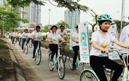 Đạp xe 30 km quanh Hà Nội hưởng ứng ngày Sở hữu trí tuệ