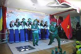 Người Việt tại Ukraine mít tinh kỷ niệm chiến thắng Điện Biên Phủ