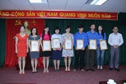 Trao giải thi tìm hiểu 60 năm chiến thắng Điện Biên Phủ