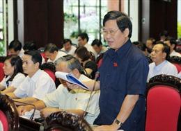 Quốc hội thảo luận dự thảo Nghị quyết về việc lấy phiếu, bỏ phiếu tín nhiệm