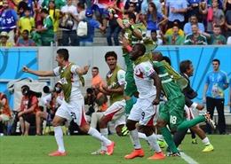 Italy-Costa Rica (0-1): Chuyện cổ tích Trung Mỹ