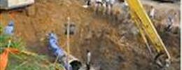 Hệ lụy vỡ đường ống dẫn nước sông Đà