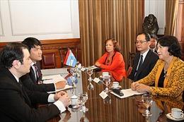 Argentina đánh giá cao lập trường của Việt Nam trong vấn đề Biển Đông