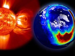 Trái đất may mắn thoát siêu bão Mặt trời