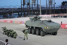 Singapore ra mắt loạt vũ khí hiện đại