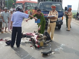3 ngày, 63 người chết vì tai nạn giao thông