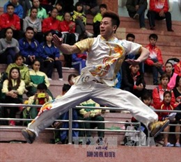 Đoàn Hà Nội dẫn đầu môn Wushu tại Đại hội TDTT toàn quốc