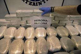 Bắt 400 đối tượng buôn bán ma túy ở châu Âu