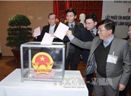 Lấy phiếu tín nhiệm đối với lãnh đạo Văn phòng Quốc hội