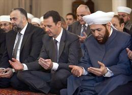 Tổng thống Assad cầu nguyện tưởng nhớ nhà tiên tri Muhammad