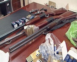 Khởi tố vụ tàng trữ, sản xuất vũ khí quân dụng tại Quảng Ninh