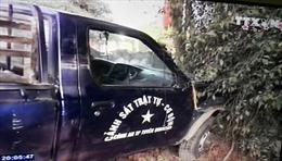 Xe cảnh sát gây tai nạn,  2 người tử vong tại chỗ