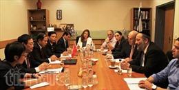 Việt Nam-Israel kỳ vọng nâng kim ngạch thương mại lên 2 tỉ USD