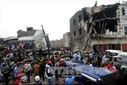 Máy bay Indonesia đâm vào khu dân cư là do động cơ hỏng