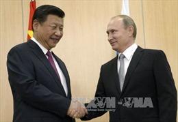 Tổng thống Nga gặp Chủ tịch Trung Quốc
