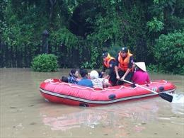 Quảng Ninh: 500 nhà dân ngập sâu, một xã bị cô lập