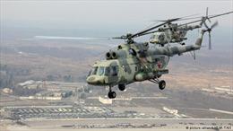 Rơi trực thăng Nga, 6 người chết