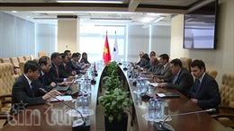 Ban Kinh tế Trung ương làm việc tại LB Nga và Belarus
