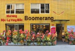 """Boomerang- địa chỉ ẩm thực  """"độc"""" và """"lạ"""""""