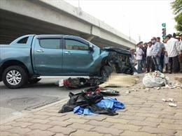 Xe ô tô bán tải gây tai nạn, 1 học sinh thiệt mạng