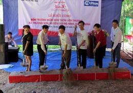 Tập đoàn Prudential tài trợ xây trường học tại Quảng Bình