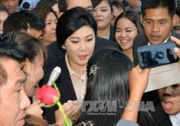 Bà Yingluck trình diện tòa do vụ kiện trợ giá gạo