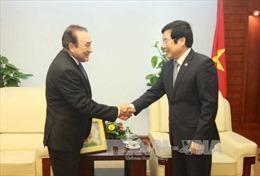 Tổng Giám đốc Hãng thông tấn Nhà nước Mexico thăm TTXVN