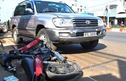 Đắk Lắk: Ô tô mất lái gây tai nạn, 3 người bị thương
