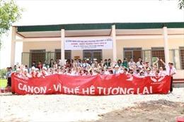 """""""Canon – Vì thế hệ tương lai""""- hành trình tiếp sức ước mơ tại Đắk Lắk"""