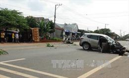 Tai nạn giao thông liên hoàn trên quốc lộ 14
