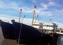 """Tàu vỏ thép đóng mới """"đắp chiếu nằm bờ"""""""