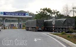 """""""Chuyện lạ"""" ở trạm cân IC14 cao tốc Nội Bài-Lào Cai"""