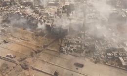 UAV Nga ghi lại hình ảnh chân thực về Damascus