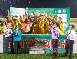 Hà Nội T&T vô địch Giải bóng đá U21 quốc gia