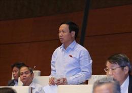 Cử tri đánh giá cao phiên thảo luận kinh tế - xã hội tại Quốc hội
