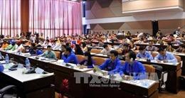 Việt Nam dự Đại hội XIX Liên đoàn thanh niên dân chủ thế giới