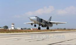 Nga không kích dữ dội dọc biên giới Syria-Thổ