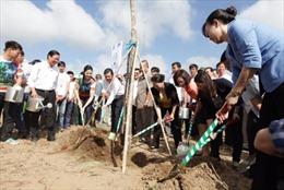 Vinamilk trồng cây tại Bến Tre