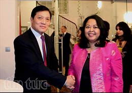 Đại sứ các nước ASEAN tại CH Séc tổ chức chiêu đãi