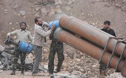 Độc đáo dàn vũ khí tự chế của phe nổi dậy Syria