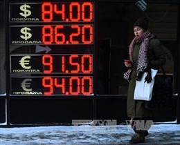 Nga chi gần 10 tỷ USD đối phó khủng hoảng tài chính