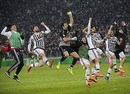 Juventus trở lại đỉnh Serie A
