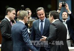 Thủ tướng Séc lo ngại trước viễn cảnh Anh rời EU