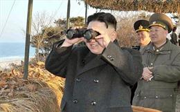 Ông Kim Jong-un thị sát bắn thử súng chống tăng mới