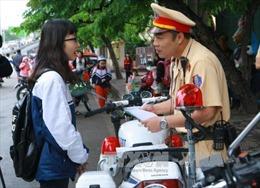 Hà Nội: Phạt nặng học sinh vi phạm luật giao thông