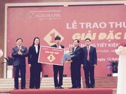 Agribank trao giải 1 tỷ đồng cho khách hàng may mắn