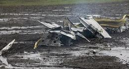 Gió mạnh bất thường làm máy bay rơi ở Nga