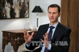 Tổng thống Syria đề cao chiến thắng tại Palmyra